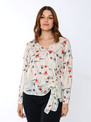 Silver Thread Blouse - WrenClothing.ie