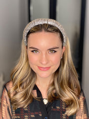 The Celine Headband in Silver