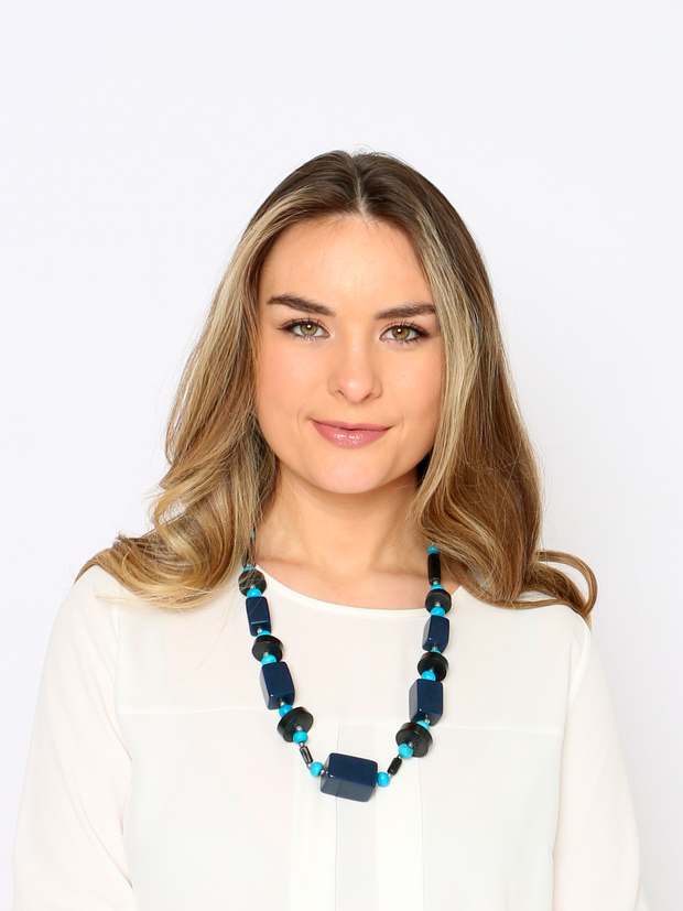 Christopher Wren Ocean Blue Necklace