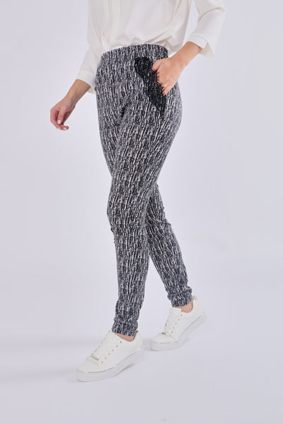 Lace Leisure Pant