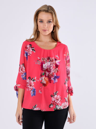 Pink Lined Blouse