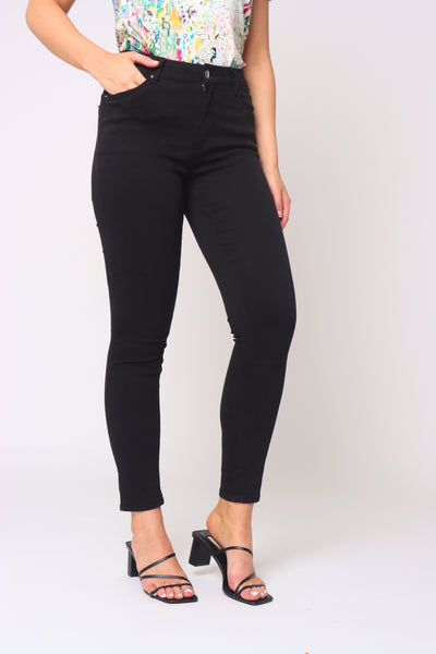 The Push-Up Jean in Black
