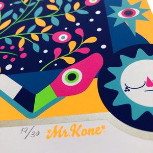 Art Print Mr Kone( Dic 2019 )