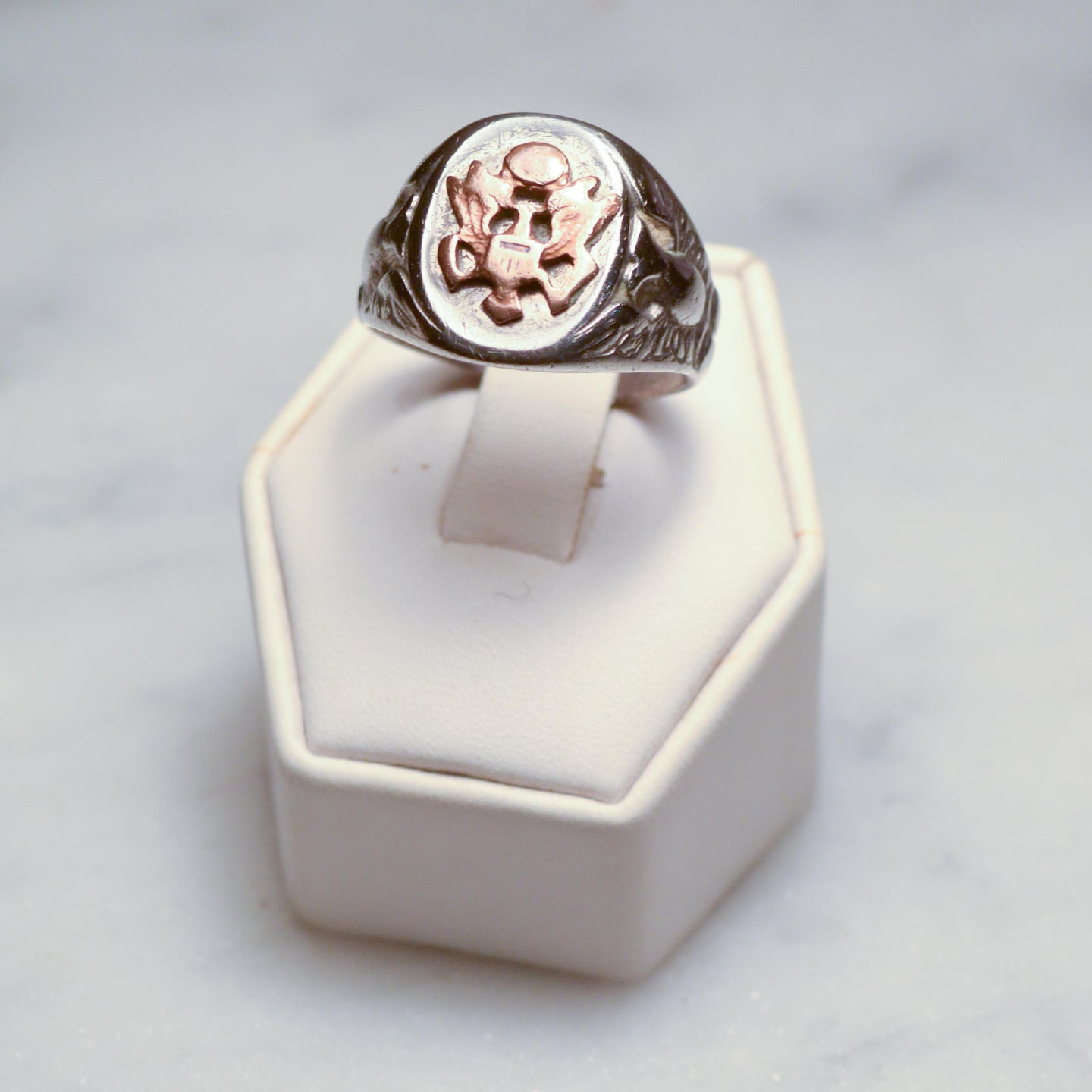 US Army Sterling Silver Signet Ring