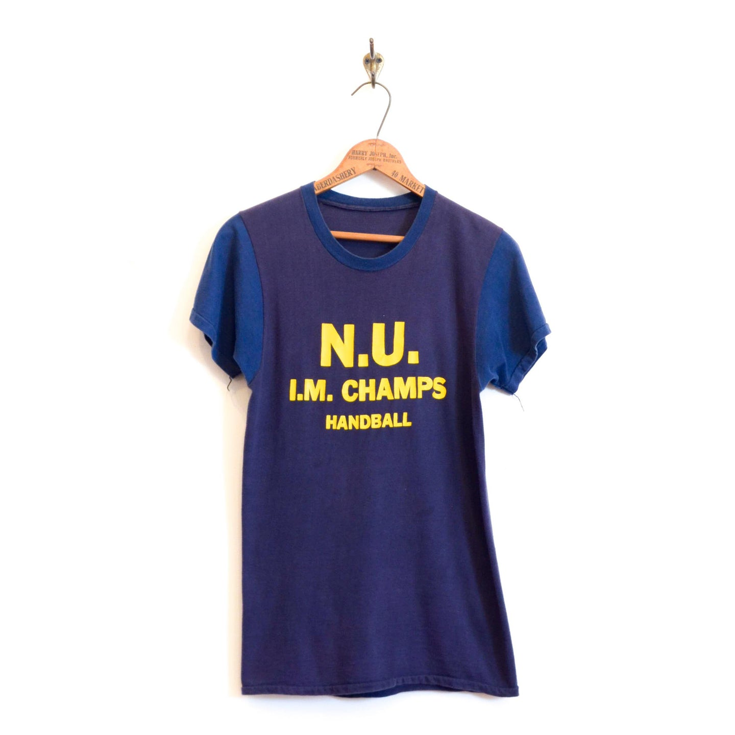Unknown - Two Tone National University Tee Shirt