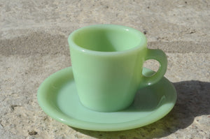 Jede-ite Straight Cup & Saucer