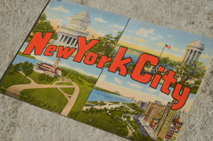 Vintage Post Card - New York City