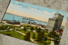 Load image into Gallery viewer, Vintage Post Card - Battery Park