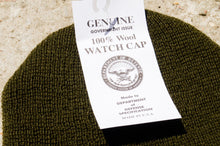 Load image into Gallery viewer, U.S. Military G.I. Watch Cap