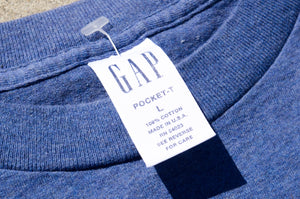 GAP - All Cotton Pocket Tee Shirt