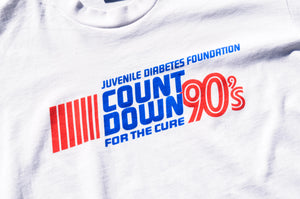 Screen Stars - Count Down For The Cure Print Tee Shirt