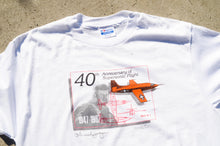 Load image into Gallery viewer, Hanes - 40th Anniversary Of Supersonic Flight Tee shirt
