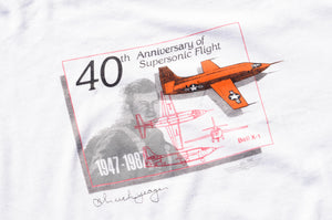 Hanes - 40th Anniversary Of Supersonic Flight Tee shirt