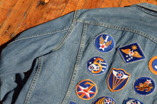 Load image into Gallery viewer, Lee - 220-J Denim Jacket with U.S. Air. Force Patches