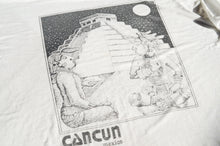 Load image into Gallery viewer, Unknown Brand - Mexico Cancun Souvenir Tee Shirt
