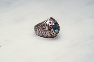USN Sterling Silver Signet Ring