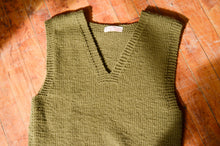 Load image into Gallery viewer, American Red Cross - WWII Wool Knit Vest
