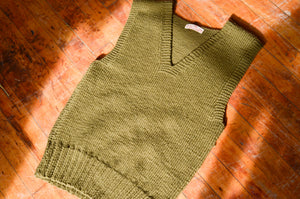 American Red Cross - WWII Wool Knit Vest