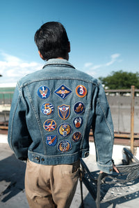 Lee - 220-J Denim Jacket with U.S. Air. Force Patches