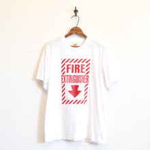 Load image into Gallery viewer, SCREEN STARS - Fire Extinguisher  Joke Tee shirt