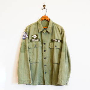 U.S. Military - M-43 HBT U.S Army Jacket