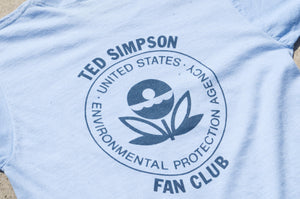 Screen Stars - Ted Simpson Fan Club Print Tee Shirt