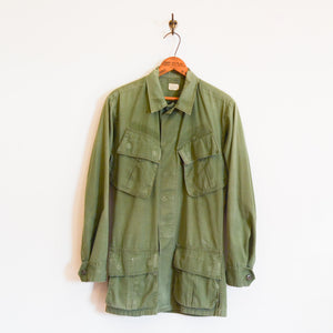 U.S. Military - Jungle Fatigue Jacket 4th Type with Van Halen Print