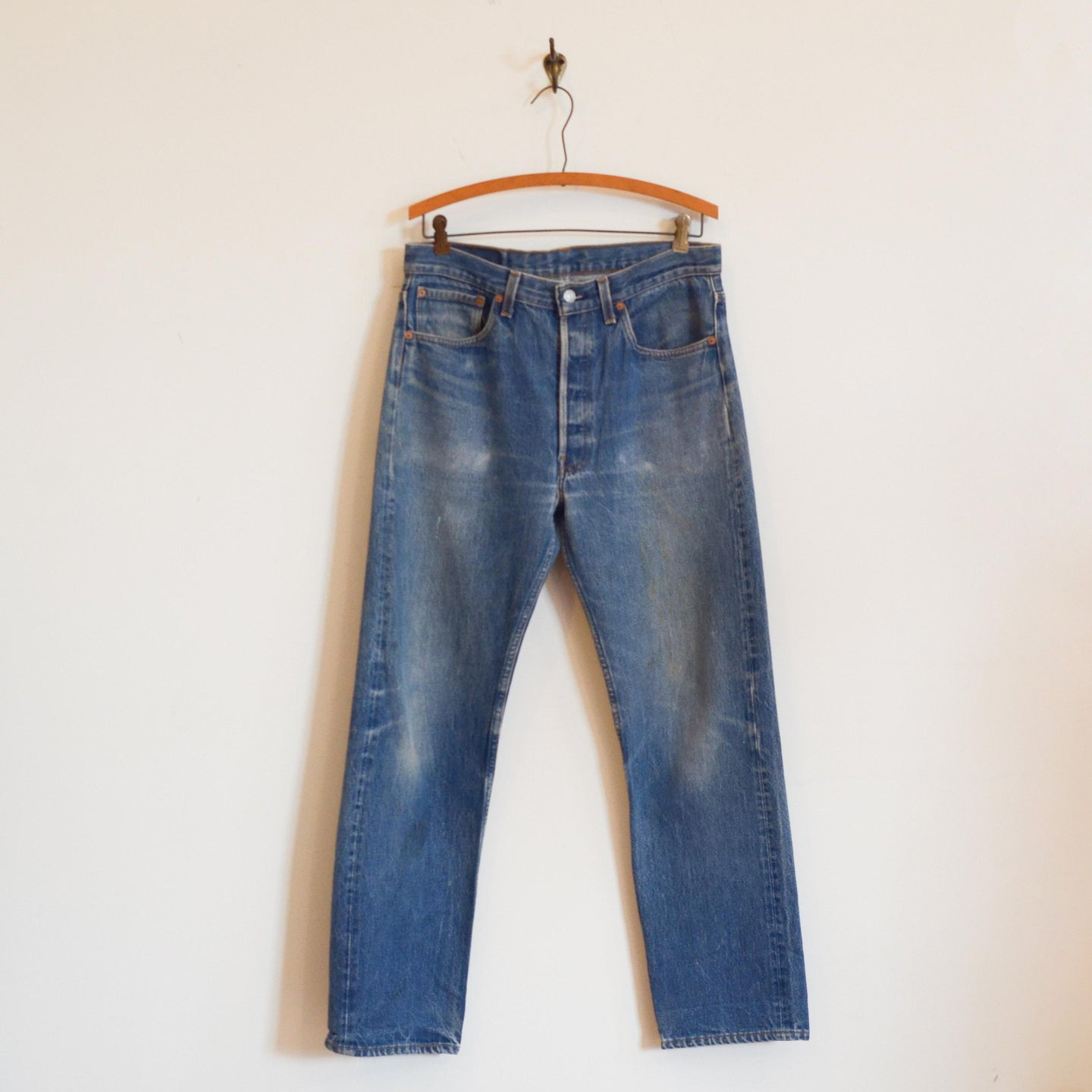 Levi Strauss & Co. - 501 Straight Denim Pants