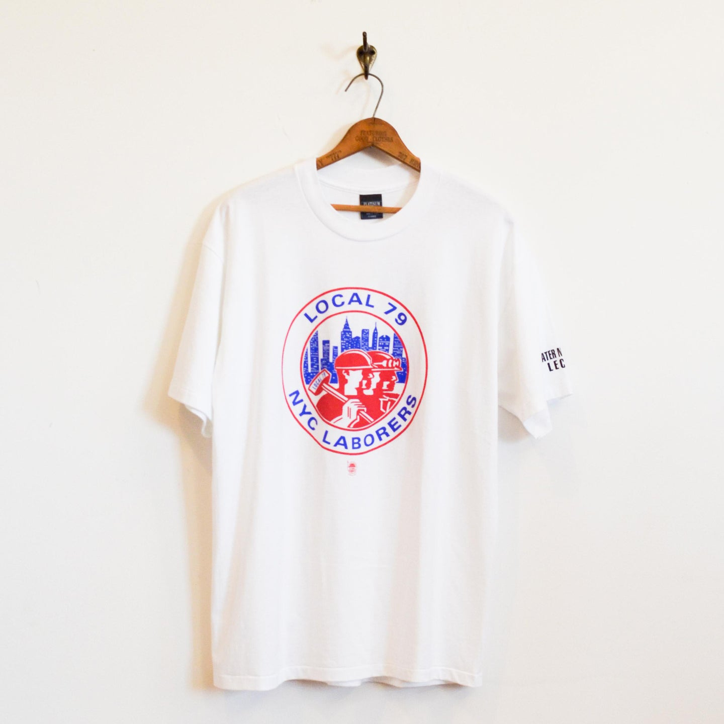 Platinum Plus - Local 79 NYC Laborers Tee shirt