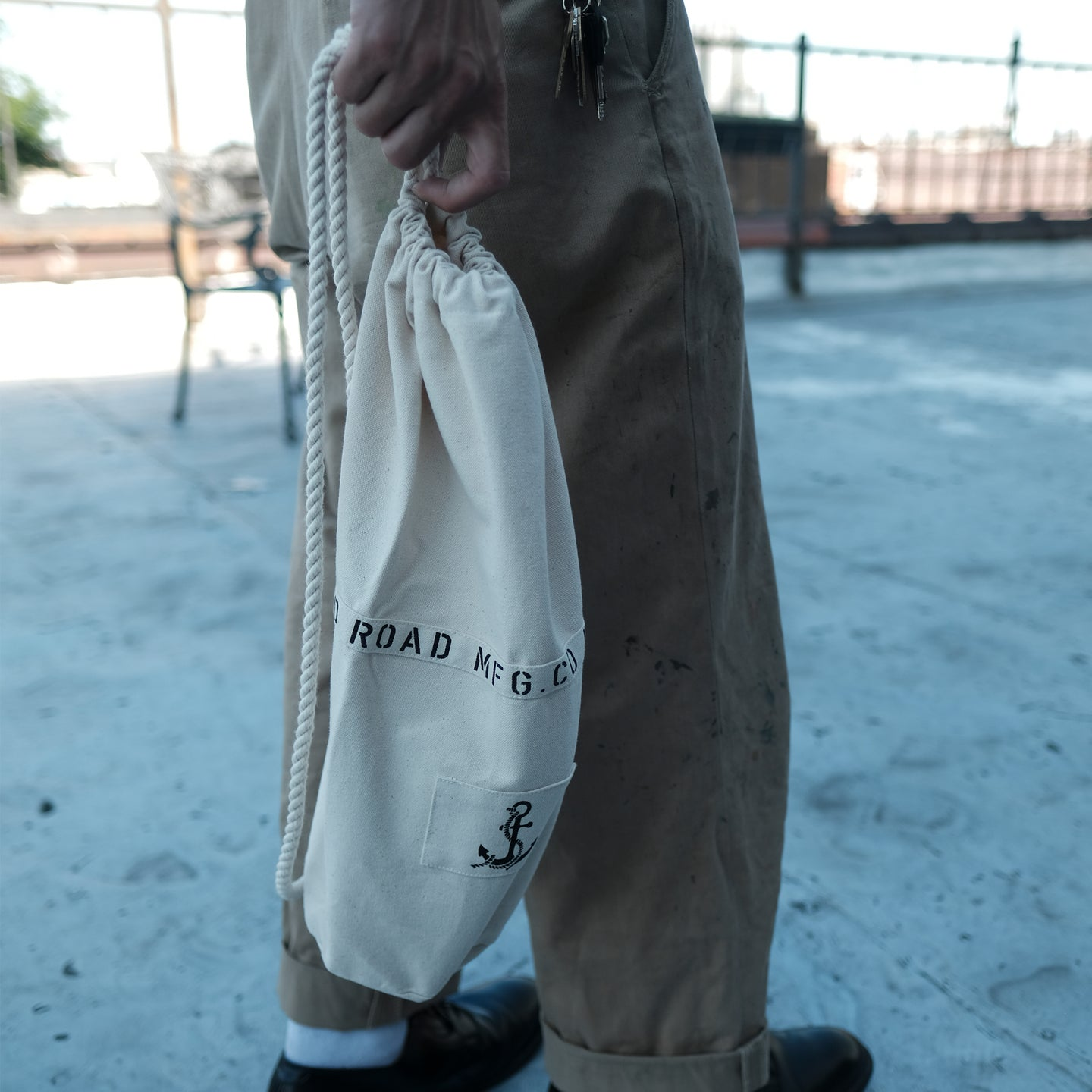 Rugged Road & Co.  - Original Cotton Canvas Bag