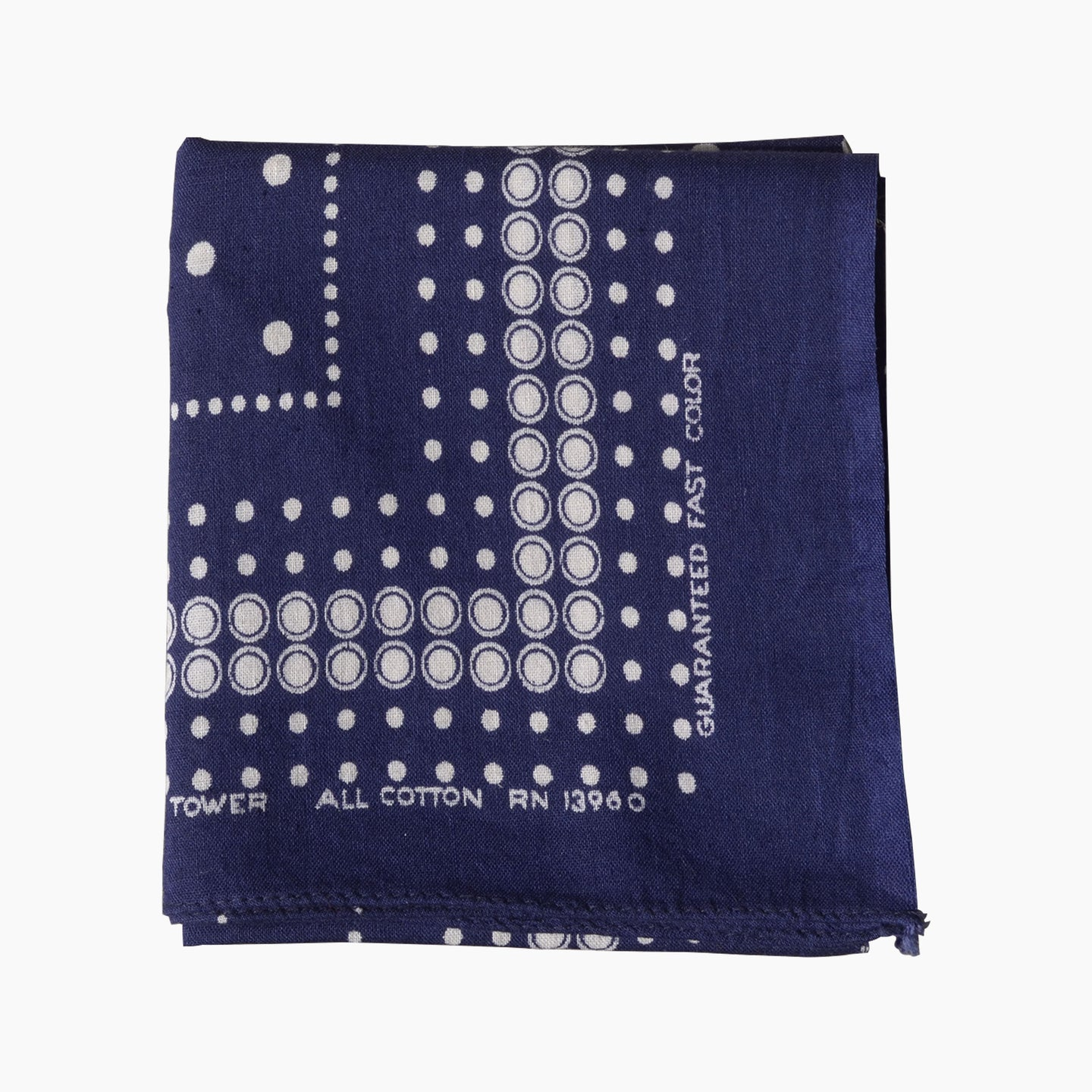 Tower - Polka Dot Cotton Bandana