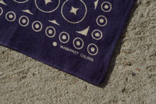 Load image into Gallery viewer, Washfast - Circle & Dot Cotton Bandana