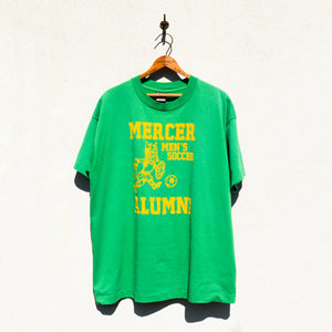 Fruit of the Loom - Mercer Alumni Men's Soccer Team Print Tee Shirt