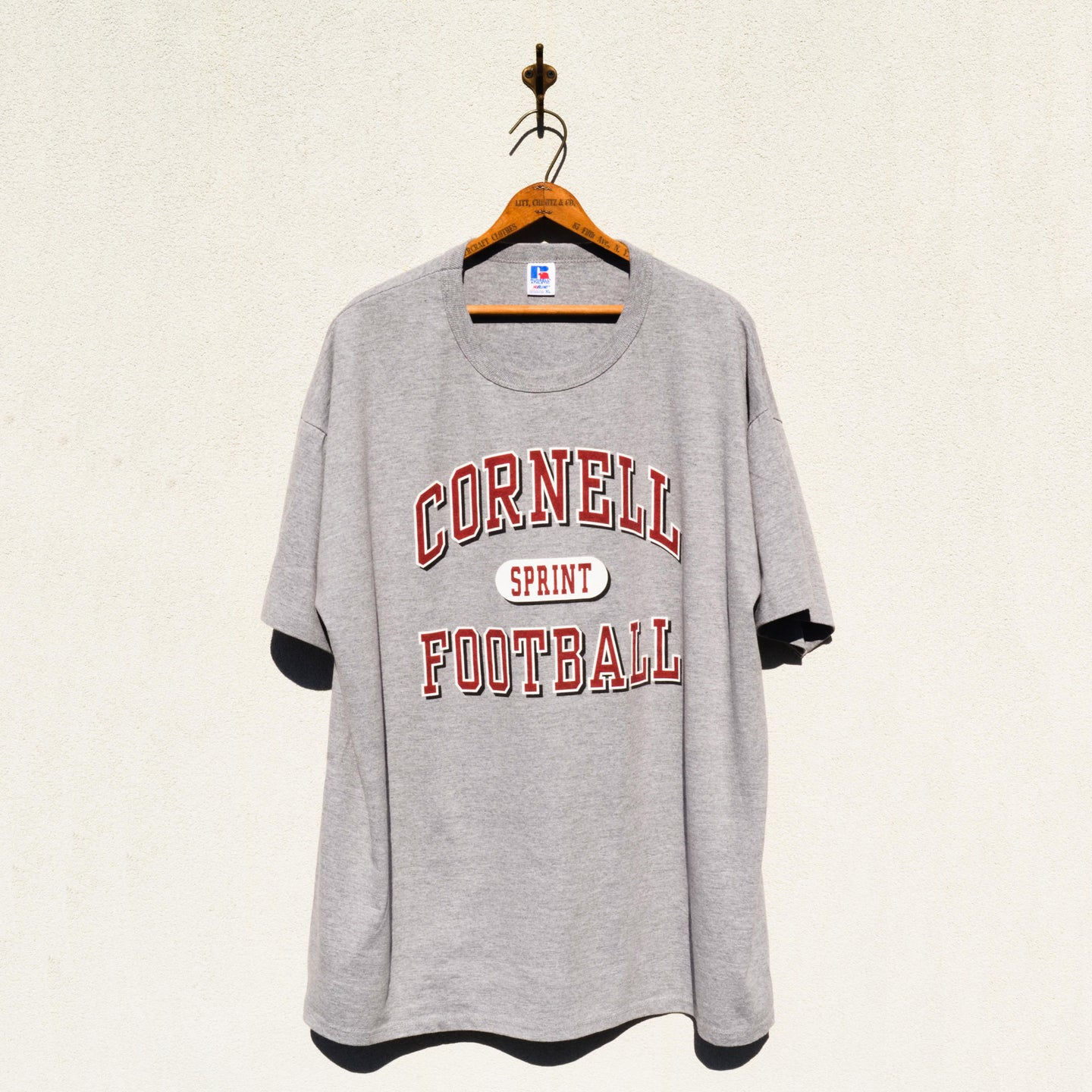 Russel Athletic - Cornell University Football Tee shirt