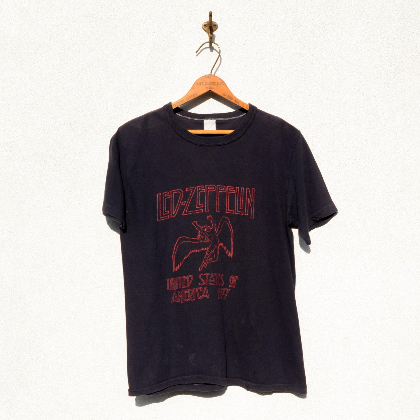 Unknown Brand - Led Zeppelin 1977 U.S Tour Tee Shirt