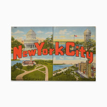 Load image into Gallery viewer, Vintage Post Card - New York City