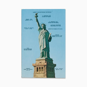 Vintage Post Card - The Statue of Liberty
