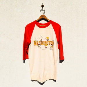 ARTEX - Peanuts Series Washington University Tee Shirt