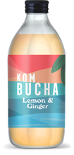 Laden Sie das Bild in den Galerie-Viewer, Kombucha Lemon & Ginger (6 x 330ml)