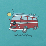 Men's Outlook Mostly Sunny Crusher Tee