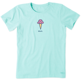 Women's Chill Cone Vintage Crusher Tee