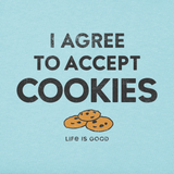 Men's I Accept Cookies Crusher Tee