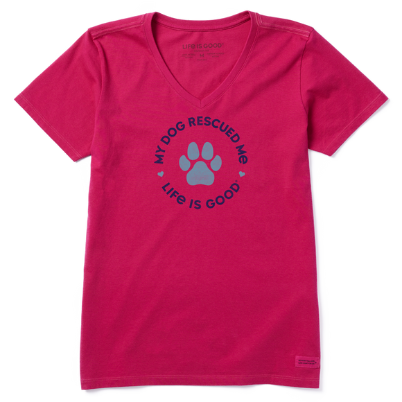 Women's Rescue Hearts Crusher Vee