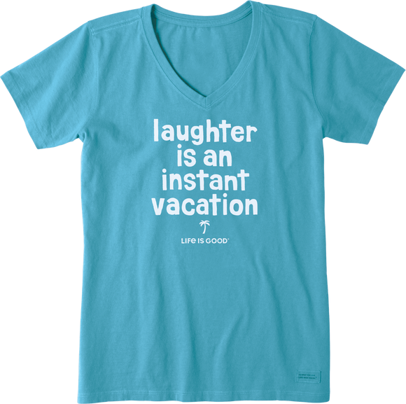 Women's Laughter Is Vacation Crusher Vee
