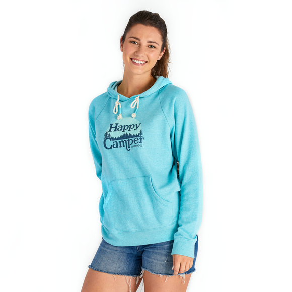 Women's Happy Camper Simply True Hoodie