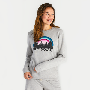 Women's Funky Outdoor Simply True Crew