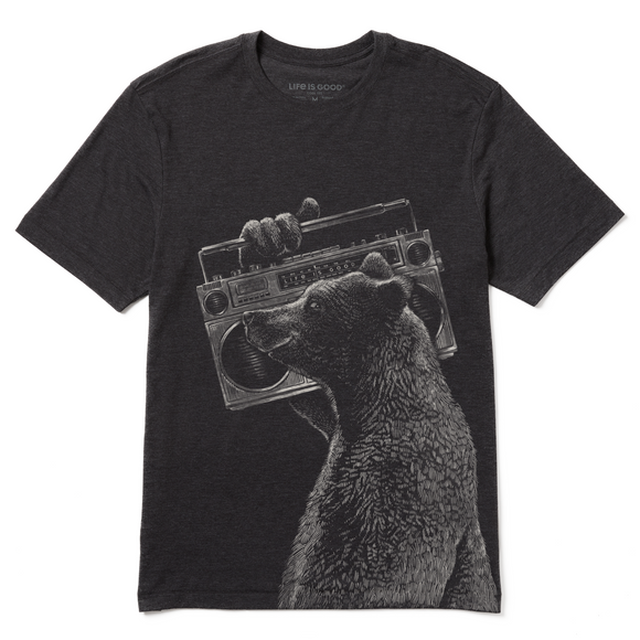 Men's Boom Box Bear Cool Tee