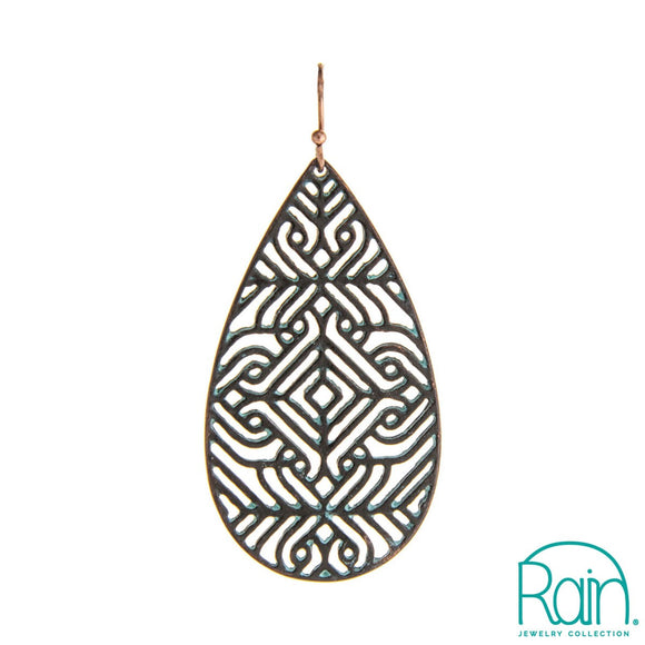 Openwork Pattern Earrings