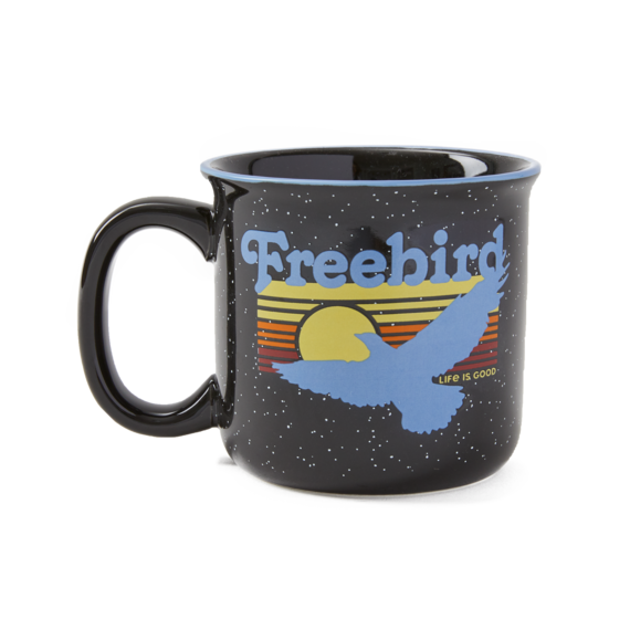 Free Bird Happy Camper Mug