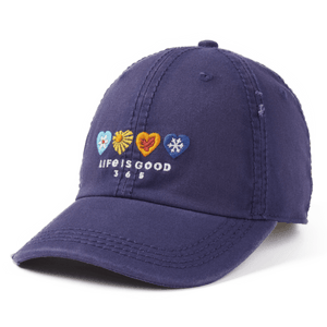LIG 365 Hearts Sunwashed Chill Cap